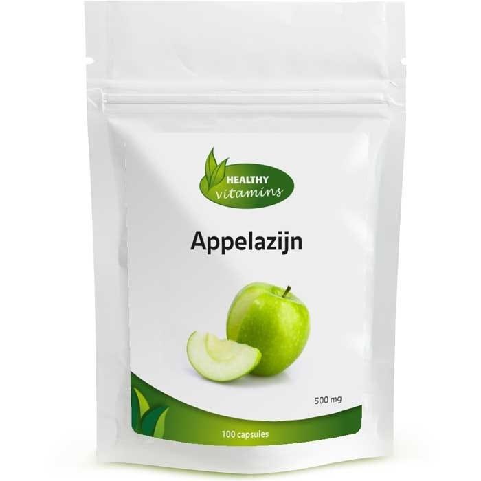 Afbeelding van Appelazijn - 100 capsules - 500 mg - Vegan - Vitaminesperpost.nl