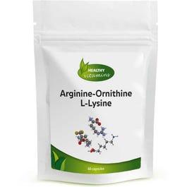 Arginine-Ornithine & L-Lysine
