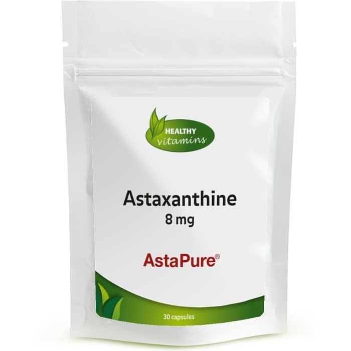 Afbeelding van Astaxanthine 8 mg | Vegan | Vitaminesperpost.nl