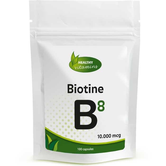 Biotine 10.000 mcg | Vitamine B8 | Vitaminesperpost.nl
