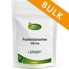 Fosfatidylserine 200 mg - 240 capsules - Bulk