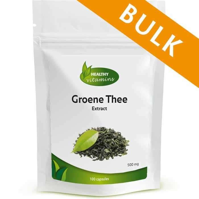 Groene Thee extract - 400 capsules - Vitaminesperpost.nl