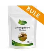 Groenlipmosselolie Vloeibaar 50 mg - 240 softgels - Bulk