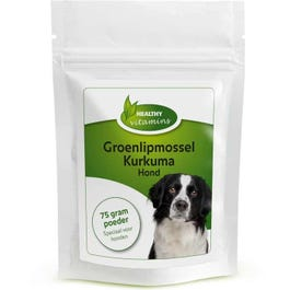 Groenlipmossel-Kurkuma Hond