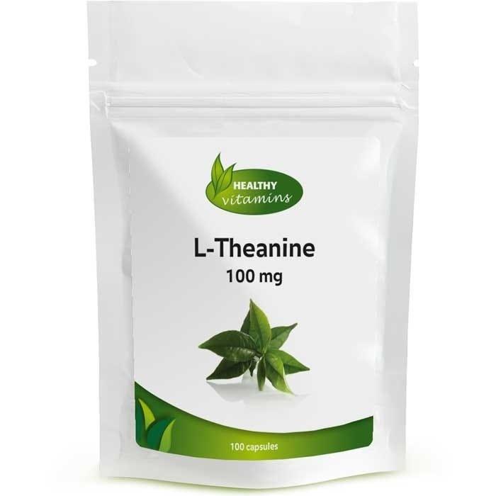 L-Theanine 100 mg - 100 capsules | Vitaminesperpost.nl