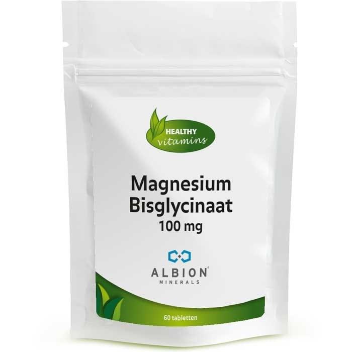 Magnesium Bisglycinaat 100 mg - Vitaminesperpost.nl