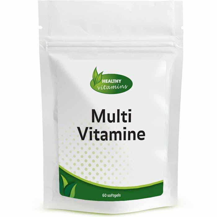 Multivitamine - 60 softgels - Vitaminesperpost.nl