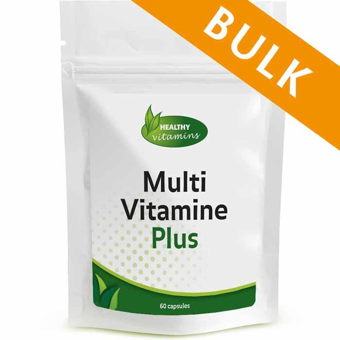 Multivitamine Plus - 240 capsules - Vitaminesperpost.nl