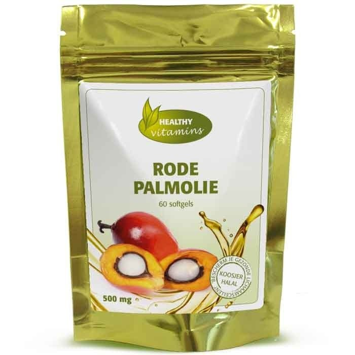 Rode Palmolie capsules - 60 softgels - Vitaminesperpost.nl