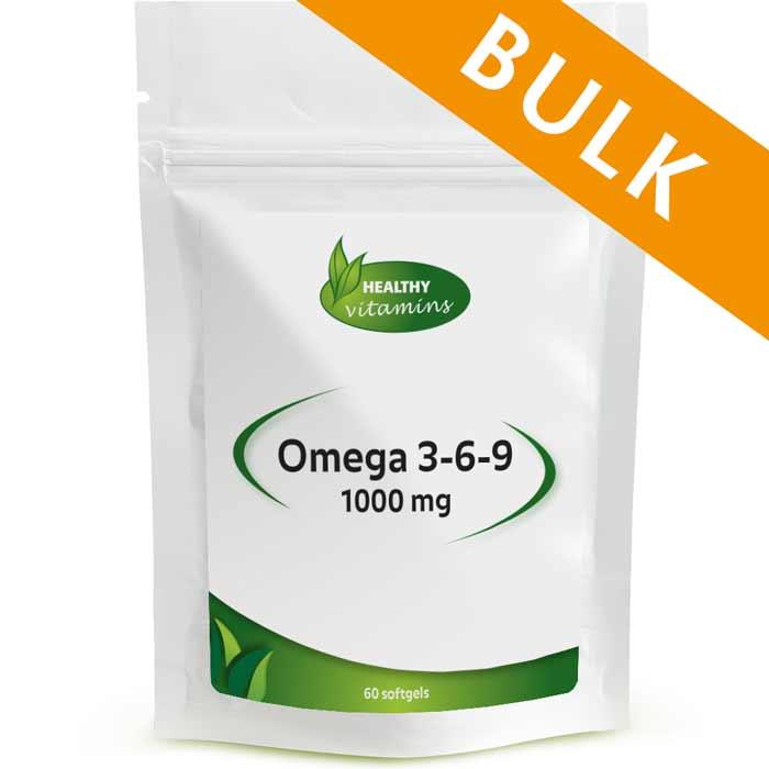 Afbeelding van Omega 3-6-9 - 240 softgels - Vitaminesperpost.nl