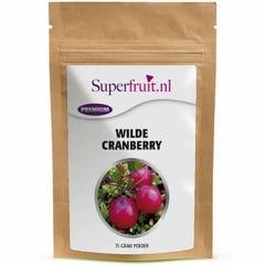 Wilde cranberry poeder