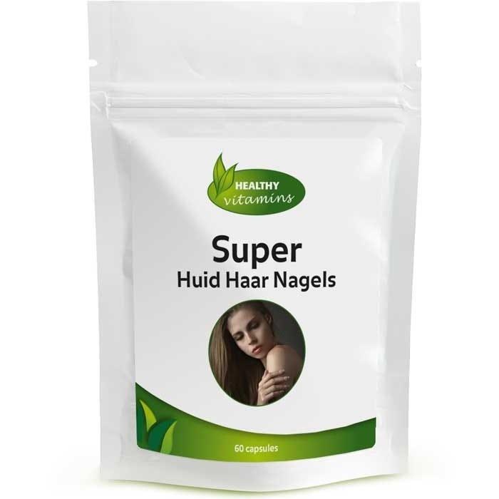 Super Huid Haar Nagels - 60 capsules - Vitaminesperpost.nl