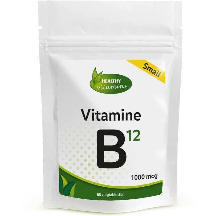 Vitamine B12 extra Sterk - 60 zuigtabletten - Vitaminesperpost.nl