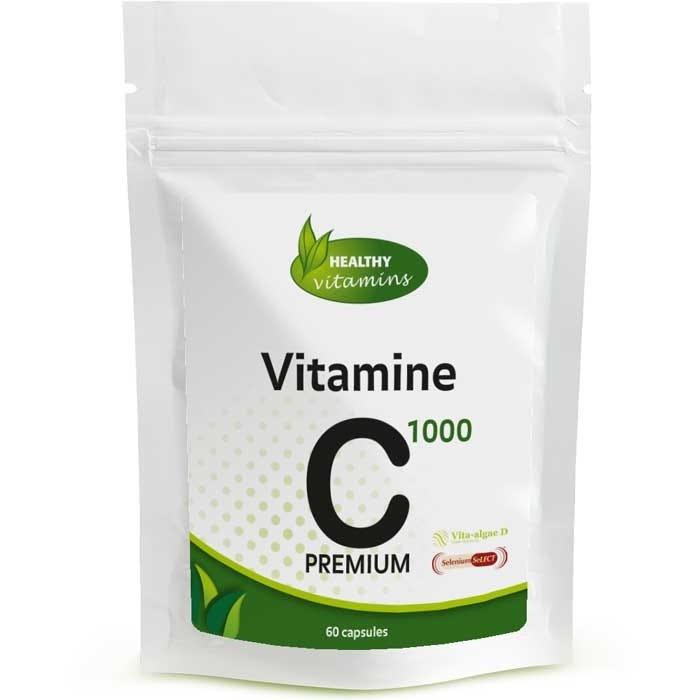 Vitamine C 1000 met Vitamine D3, Zink en Selenium - Vitaminesperpost.nl