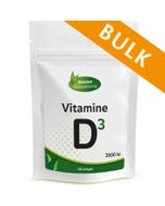 Vitamine D3 2000ie - 400 softgels - Bulk