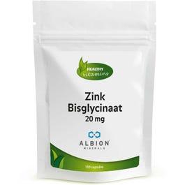 Zink Bisglycinaat 20 mg