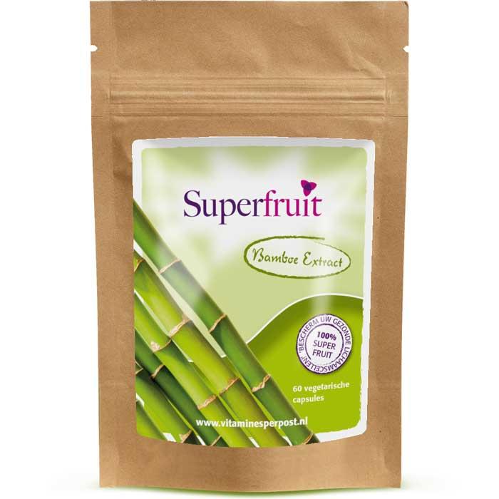 Bamboe extract- 60 capsules - min. 70% Kiezelzuur Silica