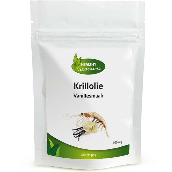 Krillolie vanillesmaak