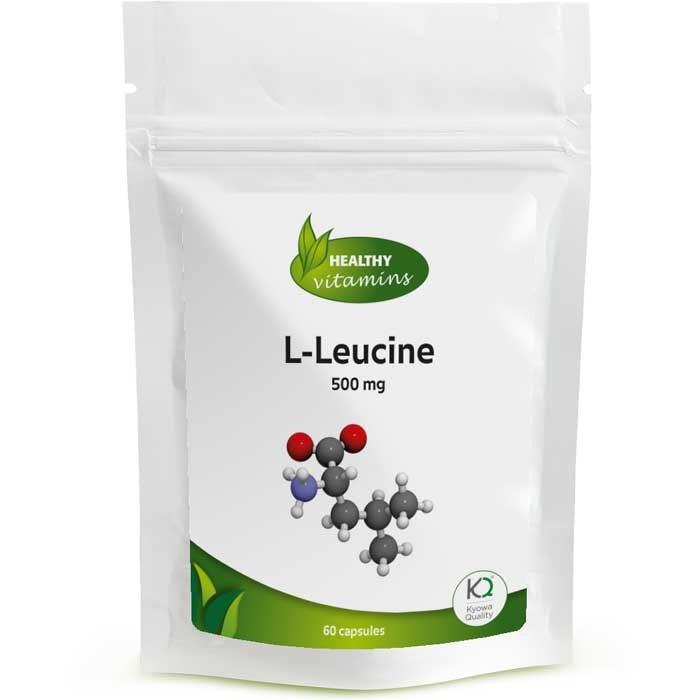 L-Leucine - 60 capsules - Vitaminesperpost.nl