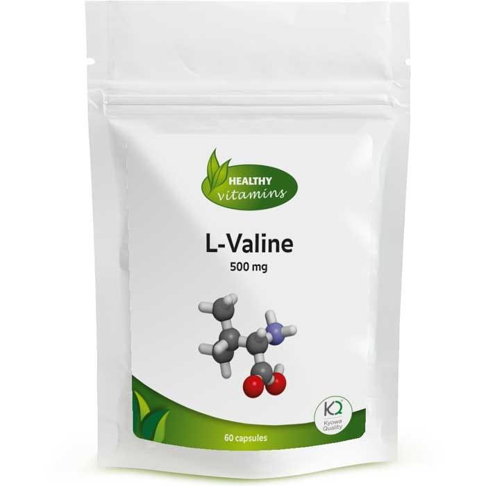 L-Valine - 60 capsules - Vitaminesperpost.nl