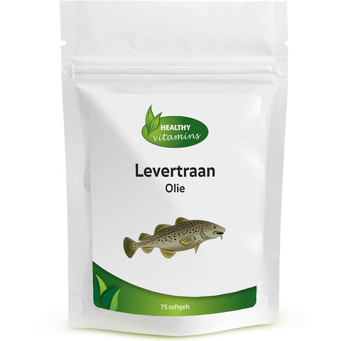 Levertraan olie