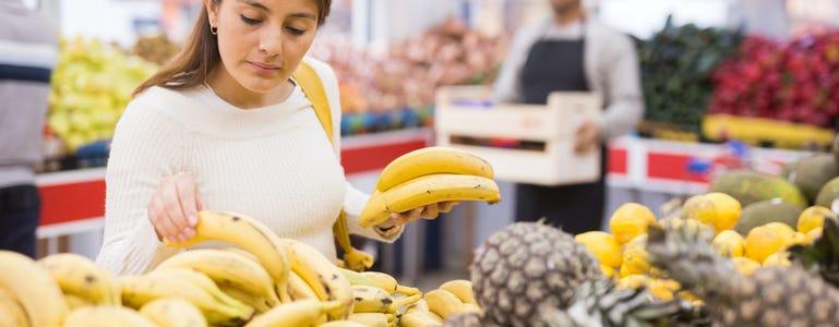 Bananen: uitstekende bron van kalium
