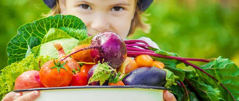Gezond leven wordt kinderen met de paplepel ingegoten