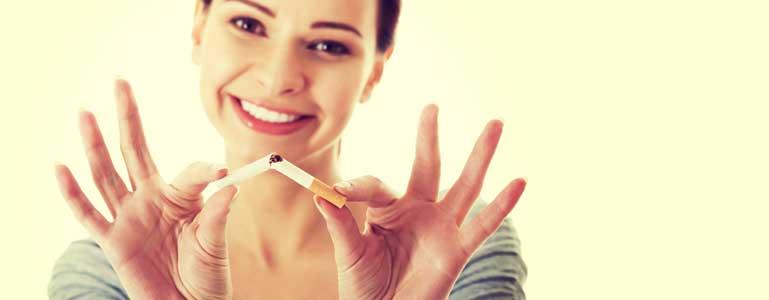 Stop met roken met ondersteuning van supplementen