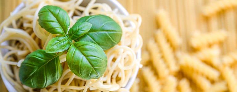 pasta en frietjes