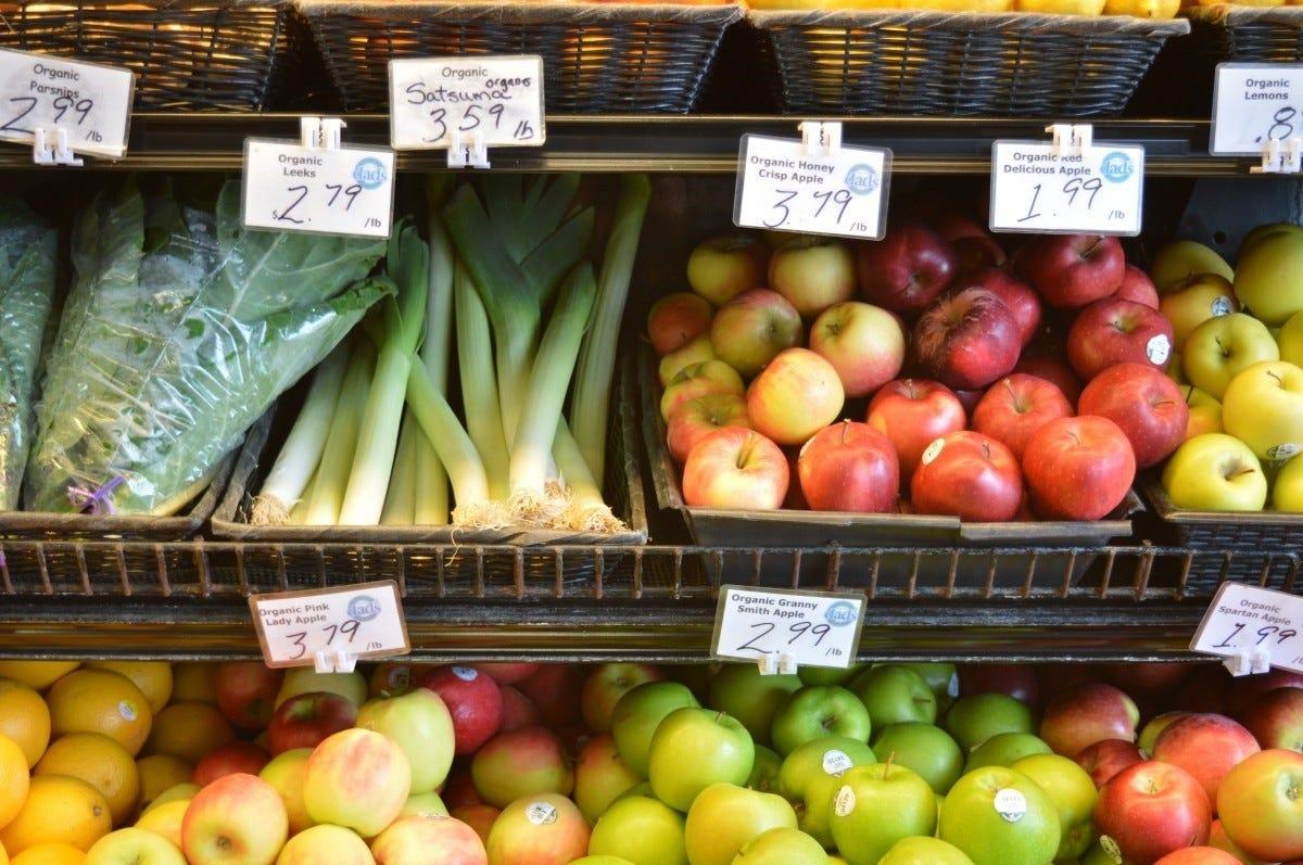 Nederlandse groente- en fruiteters onder EU-gemiddelde