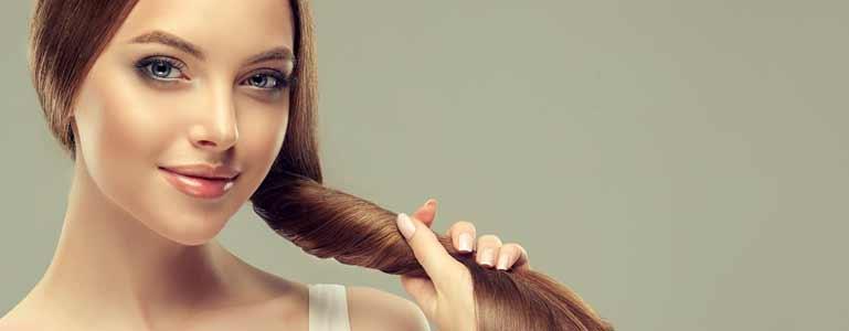 Keratine supplementen zijn goed voor het haar