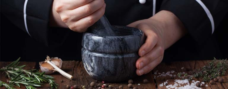 Koken met vitex agnus castus