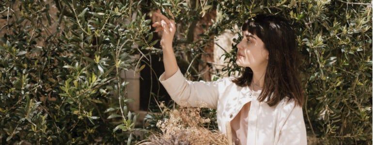Opgelucht ademhalen met olijfblad extract