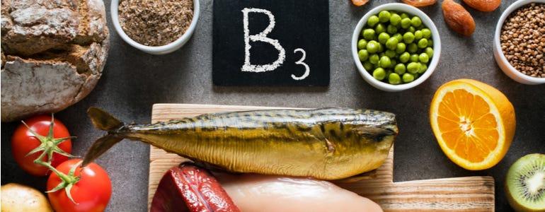 Vitamine B3: de energievitamine!