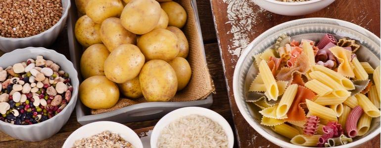 Voedingsmiddelen rijk aan polysachariden