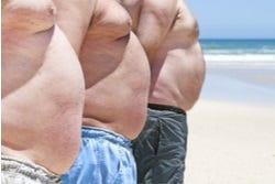Zeer dikke mannen