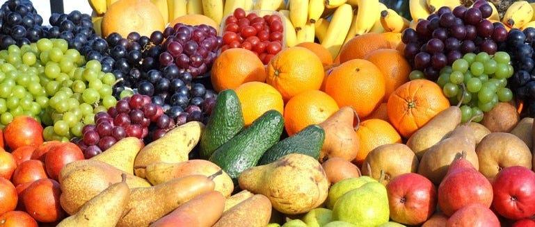 kleurrijk fruit