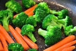 Wortels en broccoli
