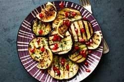 Abergine-granaatappel