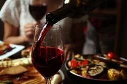 Rode wijn: een bron van polyfenolen