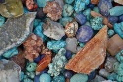 Verschillende mineralen