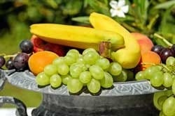 fruitschaal vol fruit