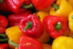 rode en gele paprika's