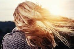 Meisje met prachtig lang haar