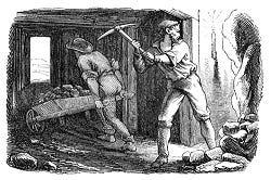 Mijnwerkers onder invloed van de 'mangaan gekte...'