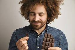 Pure chocolade heeft een gunstige invloed op de libido