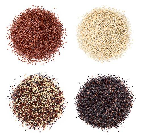 Quinoa in verschillende kleuren