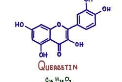 structuurformule quercetine