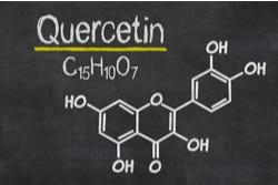 Scheikundige formule van quercetine