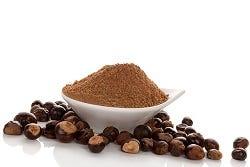 Gemalen guarana zaden